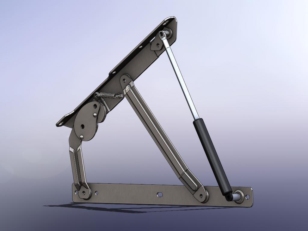 Auto-Lock Bed Mechanism Image